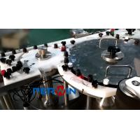 China Small Volume Filling And Capping Machine Glass Or Plastic 3KW Power on sale
