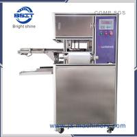 soap wrapping machine with in-feed Transfer belt for round or oval shape medicine soap Manufactures