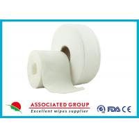Cross Lapping Spunlace Non Woven Roll Manufactures