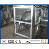 ISO Electric Butter Maker Butter Making Equipment With Bottle Packing Machine Manufactures