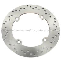 Silver Motorcycle Brake Disc / 2Cr13 Stainless Steel Disc Brake In Bike Manufactures