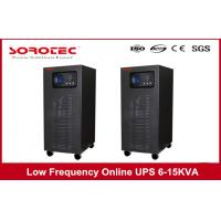 50/60HZ Frequency Low Frequency Online UPS Switch For Bank Mini Office System , 6 - 15 KVA Manufactures