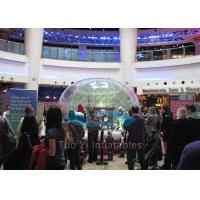 Diameter 1.5m - 8m Fashion Inflatable Snow Globe Bubble Dome for Advertising Manufactures