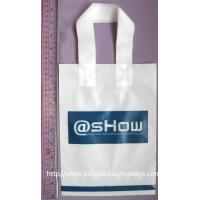 Durable Recyclable Water Resistant Plastic Handle Bag Customized Manufactures