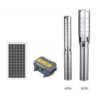 China Stainless Steel Impeller Solar Water Pumping System , Solar Cell Water Pump on sale