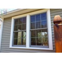 Europe Style Double Hung Aluminium Windows Double Glazed With Grilles Manufactures