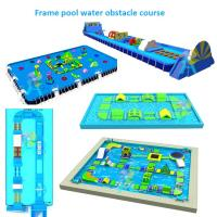 Floating open water park Giant Inflatable Water Games for Adult