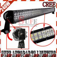 42 INCH 240W CREE LED WORK LIGHT BAR COMBO BEAM LED DRIVING LIGHT BAR OFFROAD 4x4 ATV Manufactures