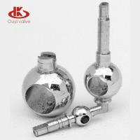 Wear Resisting Ball Valve Balls A182 F316 Stem for Water Medium / Pin Hole Drive Manufactures