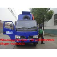 customized CLW 4*2 LHD side garbage bin lifter truck for sale, HOT SALE! lowest price CLW brand side loader garbge truck Manufactures
