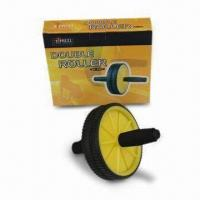 Sports Double Wheel, Fully Exercising Waists, Arms, Forearms and Legs Manufactures