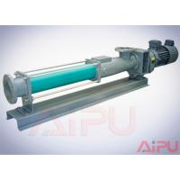 Aipu solids APG series S.S screw pump for centrifuge in drilling mud system Manufactures