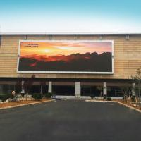 Buy cheap P4 outdoor Advertising display screen waterproof led screen display Fixed Electronic Message Centers from wholesalers