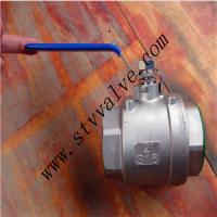 1/4-4 inch 2PC Stainless Steel Ball Valve Threaded Ends 1000WOG Manufactures