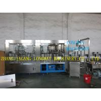New CE standard automatic washing filling capping machine Manufactures