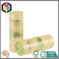 Full Color Offset Print Glossy Paper Tube with Cap; Paper Packaging Tube Manufactures