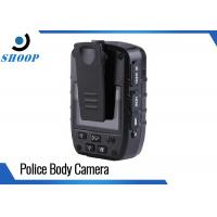 Full HD 1296P Police Body Cameras Car Mode With 140 Degree Wide Angle Lens Manufactures