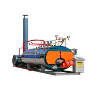 Automatic Gas Fired Industrial Steam Boilers WNS 1 - 20 Ton Horizontal High Pressure For Chemical Plant Manufactures