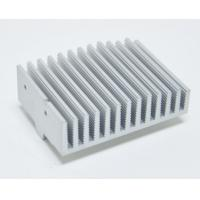 Anodized Aluminium Heatsink Extrusion Profiles With Finished Machining Manufactures