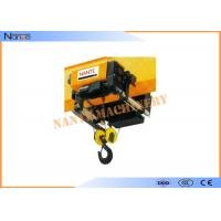 Construction Low Headroom Trolley Hoist 2160kn/Mm Used In The Factory Manufactures