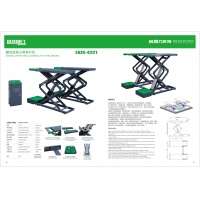 380/220V 4.2T Double Layers 25Mpa Car Lift Machine Manufactures