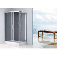 Quality Waterproof Rectangular Shower Unit , Free Standing Shower Enclosure Sliding Door for sale