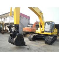 PC200 - 6 Second Hand Komatsu Excavator , 19180KG Used Heavy Equipment 132.8HP Manufactures