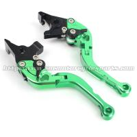 ER6N Custom Motorcycle Brake Clutch Lever For Kawasaki Parts Green Manufactures