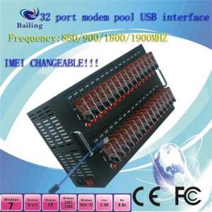 USB 32 Ports GSM SMS MODEM POOL Q24plus (850/900/1800/1900Mhz) Manufactures