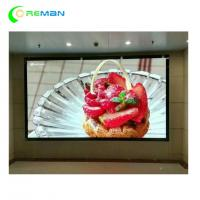 China Huge P6 Indoor LED Display Video Wall Advertising High Brightness Icn2038s Customized on sale