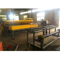 3 - 6 Mm Welding Wire Mesh Fence Machine In Rolling And Panel Electronic Control Manufactures