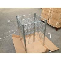 Clear Lacquer Retail Store Equipment 600 x 600 x 900mm Zinc Plated Table Manufactures