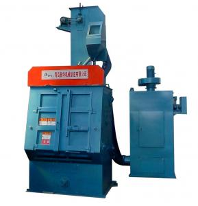 Q32 Tumble Belt Shot Blasting Machine For Brass Fittings Cleaning Manufactures