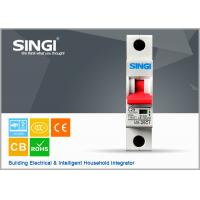 Power mini single pole circuit breaker for home with CE / CB Certificate Manufactures