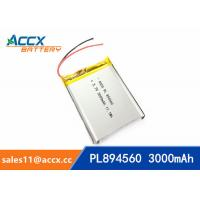 894560 pl894560  3.7V 3000mAh battery supplier rechargeable battery for miner lamp Manufactures