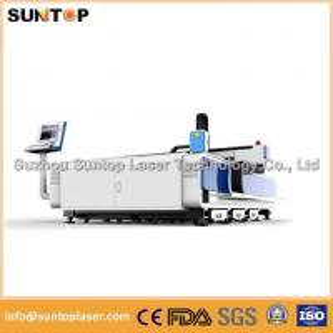 Quality 8mm Alumnium and 6mm Brass sheet CNC fiber laser cutting machine 2000W for sale