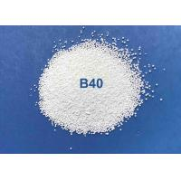 High Efficiency Ceramic Bead Blasting B40 B20 Cleaning For Copper Pipes / Steel Pipes Manufactures