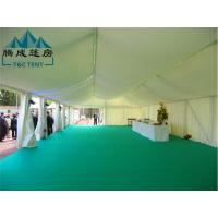 PVC Fabric / Oxford / Canvas Double Coated PVC Waterproof Canopy Tent For Wedding Manufactures