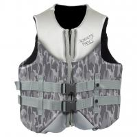 Black Color Neoprene Impact Vest For Swimming , Paddle - Boarding Manufactures