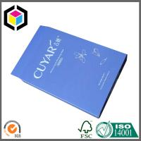 Glossy Blue Color Printed Paper Carton Box; Cosmetics Products Packing Paper Box Manufactures