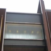Double Installation exterior facade U channel glass wall Manufactures