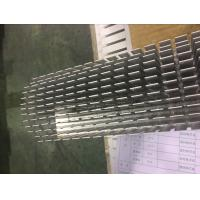 2 Meters Five Axis CNC Milling Aluminum Heat Sink Profiles for Colling System Manufactures