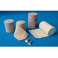 China White and flesh Medical latex elastic bandage on sale