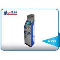 42 Inch Touch Pc Stand Up Computer Kiosk For Multi Media Information Check Manufactures