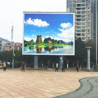 120° Viewing Angle Full Color LED Display Board P10 DIP346 Epistar Chip 300-750w Manufactures