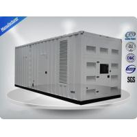 Perkins 3 Phase Container Generator Set With  900-1125Kw/Kva Prime Power Manufactures