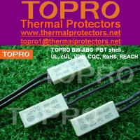 Bimetal BW-ABS Motor Thermal Protector for Fluorescent Ballast, LED Power Driver Manufactures