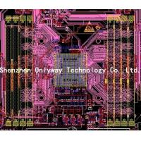 China PCB design ,pcb layouyt for DDR4 Server  products,circuit layout service,pcb design company on sale