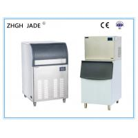High Efficiency Integrated Ice Maker , Water Cooling Stainless Steel Ice Maker Manufactures