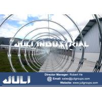 supply high quality anti piracy product razor wire concertina barbed wire Manufactures